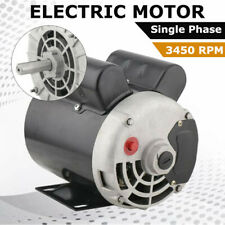 2 Hp Spl Cont. Air Compressor Electric Motor 3450Rpm 56 Frame 120/240V One Phase