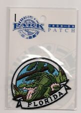 State of Florida Souvenir Patch  Alligator
