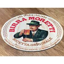 BIRRA MORETTI Wooden Signs Bar Pub Wood Plaque Sign Vintage Retro Kitchen Wall