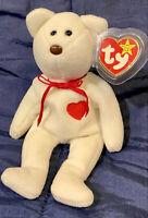 TY Beanie Baby Valentino the Valentine's Day Bear *MWNMT*