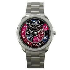 PERIODIC TABLE CHEMISTRY SCIENCE SPORTS WATCH UNIQUE NEW