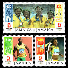 Jamaica 2008 - Olympic Games - Beijing, China - Sc 1078/80 MNH