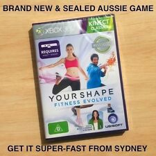 Your Shape Kinect game *For Aussie XBOX 360 *NEW* Yoga dance fitness weight loss