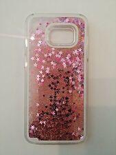 Agua líquida Glitter estrellas Bling caso cubierta brillante para todos los modelos Samsung