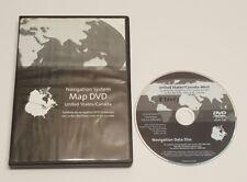 2005 - 10 CADILLAC STS -V CHEVROLET CORVETTE NAVIGATION DVD WEST COAST MAP DVD