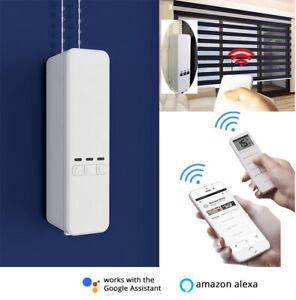 Remote Control Smart Blinds Engine, Backup Battery, Mobile APP/Alexa/Google Home