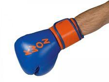Boxhandschuhe Super Champ, blau-orange von Kwon, bestes Leder. Boxen, Kickboxen
