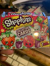 Shopkins Collector Card Packs LOT OF 3 Trading Cards NEW Sealed