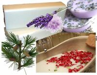 1kg SOAP BASE + MILK BATH: Cleopatra/Rosemary/Cedarwood/Rose/Lav Melt & Pour MP