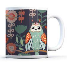 Cute Owl Bird Wildlife - Drinks Mug Cup Kitchen Birthday Office Fun Gift #13002