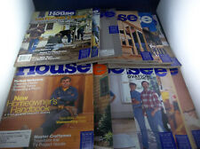 Lot Of 12 This Old House Home Renovation Magazines January-December 2000