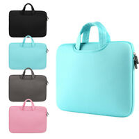 """11 13 14 15 15.6"""" Laptop Bag Sleeve Case Dual Zipper Shockproof Cover New"""
