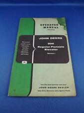 John Deere 300 Regular Portable Elevator Operators Manual Farm Machinery Tractor