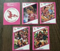 1988  MANLY  SEA EAGLES SCANLENS RUGBY LEAGUE CARDS