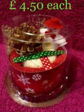Novità Natale Pupazzo di neve cake asciugamano-Ideale Stocking Filler/regalo