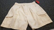 Tommy Bahama Relax Beige Cargo Shorts Mens Size Medium READ DESCRIPTION...