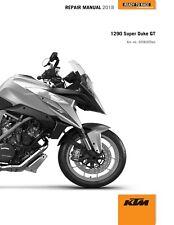 KTM Service Workshop Shop Repair Manual Book 2018 1290 Super Duke GT