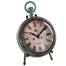 Tischuhr Standuhr Kaminuhr Uhren Uhr Neu Shabby Chic Deko 392846