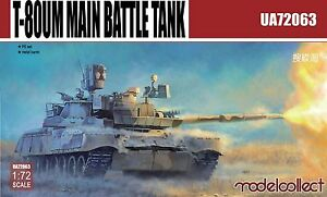 Modelcollect 1/72 Kits T-80UM1 Main Battle Tank UA72063