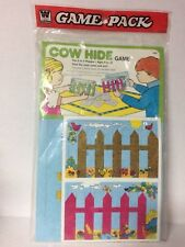 Vintage Whitman Game Pack 1974 Cow Hide Game