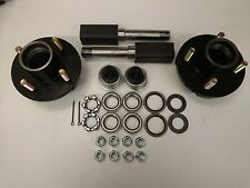 Build your own 2000# 4 x 4 Hubs Trailer Axle Kit with Square Spindles