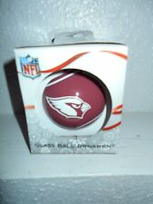 Arizona Cardinals Glass Ball Ornament
