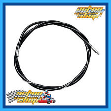 GO KART THROTTLE CABLE 1650MM LONG BLACK OUTER 1380MM EARLY ARROW/MONACO NEW