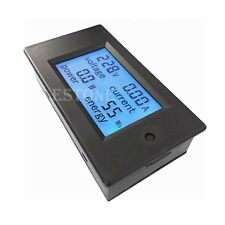 AC 20A 100V LCD Digital Volt Voltage Watt Current Power Meter Ammeter Voltmeter