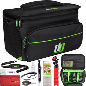 DSLR Camera Bag and Mirrorless cameras -  Large with accessories (Deco Gear)