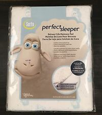 Serta Perfect Sleeper Deluxe Crib Mattress Pad Cover NEW
