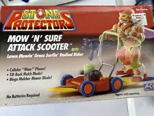 Stone Protectors Mow N Surf Attack Scooter Vintage Toys 1993 Trolls Collectible