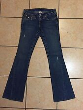 WOMENS True Religion USA JEANS BOOT CUT 601359 Style 10-503 Size 25 VGUC USA