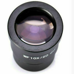 WF10X 20mm Mount 30mm Widefield High Eyepoint&Reticle Microscope Eyepiece