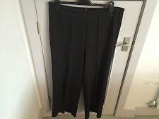 Evans Wide Leg 28L Trousers for Women