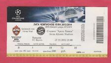 Orig.Ticket   Champions League 2013/14   ZSKA SOFIA - BAYERN MÜNCHEN  !!  SELTEN
