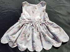 Minnie Mouse Girls Disney Handmade Dress Size 6 9 12 Months White  Jewel Button