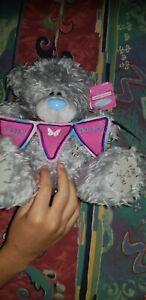 BNWT TATTY TEDDY ME TO YOU HAPPY BIRTHDAY TEDDY