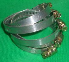 5 Stück SERFLEX Schlauchschelle Schneckenschelle 25-45mm 8mm Breite