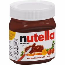 NEW NUTELLA HAZELNUT SPREAD WITH COCOA 13OZ FREE WORLDWIDE SHIPPING
