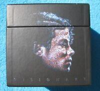 Michael Jackson Visionary leere BOX ONLY - OHNE DualDiscs Single CD DVD