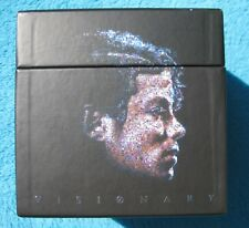 Michael Jackson Visionary leere BOX ONLY - OHNE DualDiscs Single CD DVD