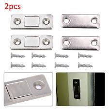 2pc Ultra Thin Door Catch Furniture Magnetic Cabinet Cupboard Door latch