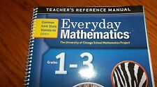 Everyday Mathematics Teacher's Reference Manual Grade 1-3 ISBN# 9780076577200