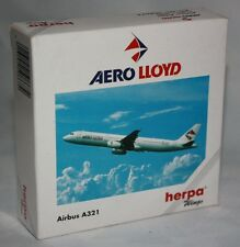 Herpa Wings-aero lloyd-airbus a321im escala/scale 1:500 - colección-modelo #508674