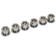 TK-0787-010 Sperzel Screw-In Guitar Tuner Bushings Polished Chrome