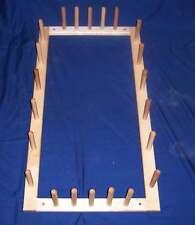 11 Yard Warping Board  38 X 20 For  Inkle or  Rigid Heddle or Card  Loom etc