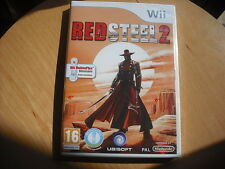 RED STEEL 2 !  JEU WII NEUF ((emballé cello)