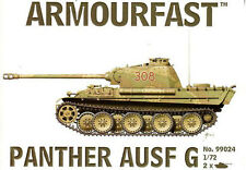 WWII Toy Soldiers 1/72 German Panther Ausf G Tank Armourfast Airfix Type 99024