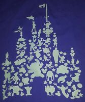 Walt Disney Parks T-Shirt Mickey Donald Pluto Goofy Hook Castle tee characters
