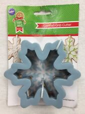 Wilton Comfort Grip Snowflake Cookie Cutter Snow Flake NWT New HTF FREE SH